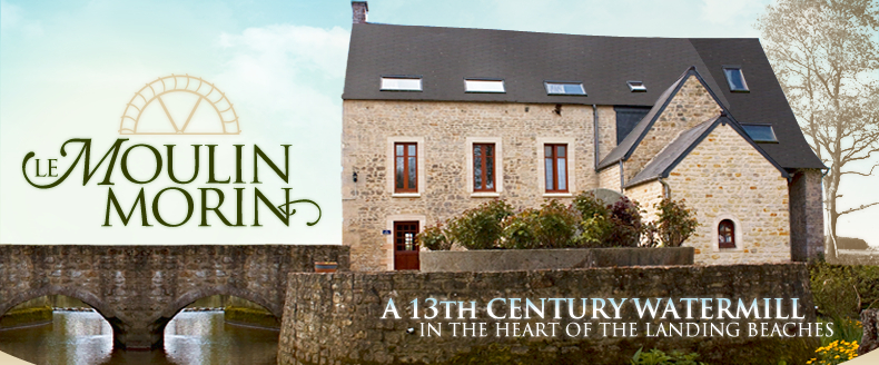 Moulin Morin | Apartments to rent in Bayeux, Normandie, in the heart of the landing beaches